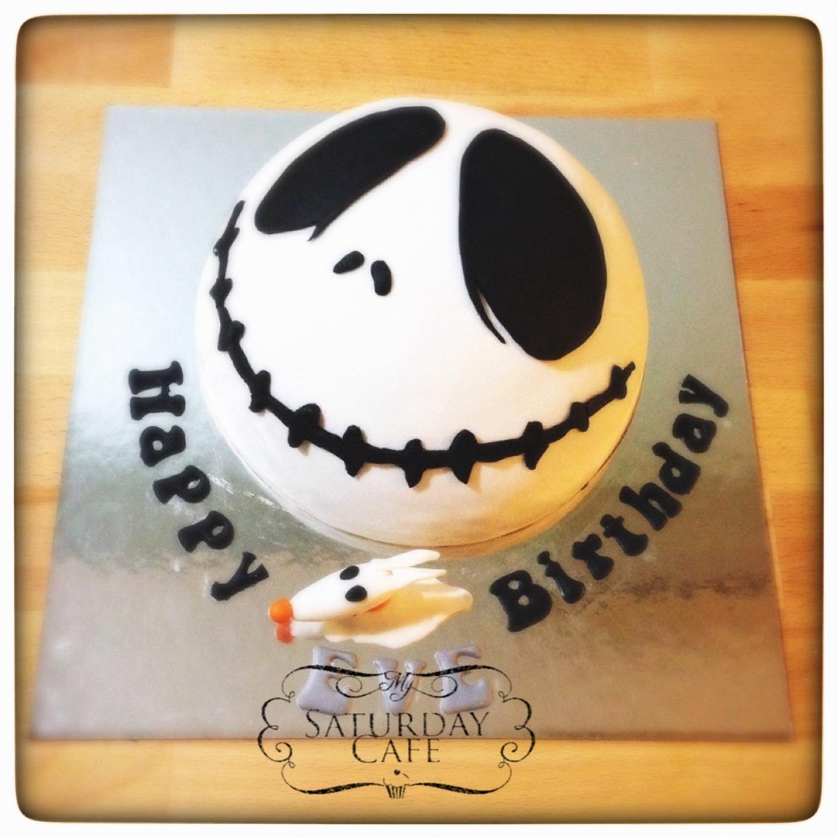 Jack Skellington Birthday Cake My Saturday Cafe